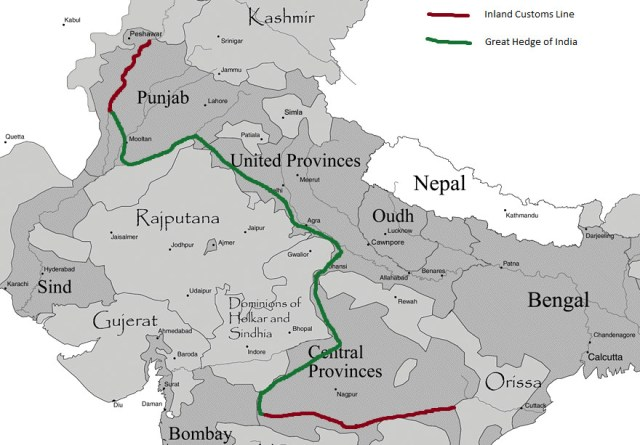 In the 1800s, Britain grew a thousand-mile hedge across India