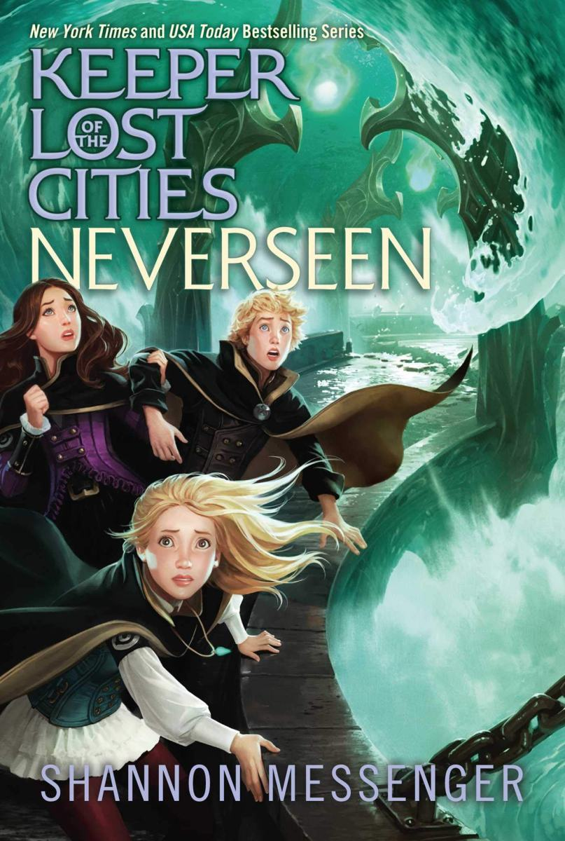 Shannon Messenger tortures her protagonist like no other in Neverseen (Keeper of the Lost Cities Book 4)