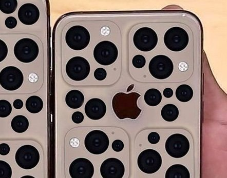 "Triple-lensed new iPhone ""triggering trypophobia"""