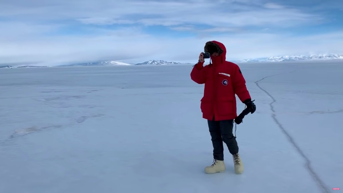 Our friend Ariel Waldman spent 5 weeks in Antarctica looking for extremophiles, and made a video series about it
