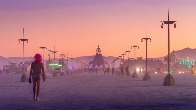 A stunning 4K art tour of Burning Man 2019