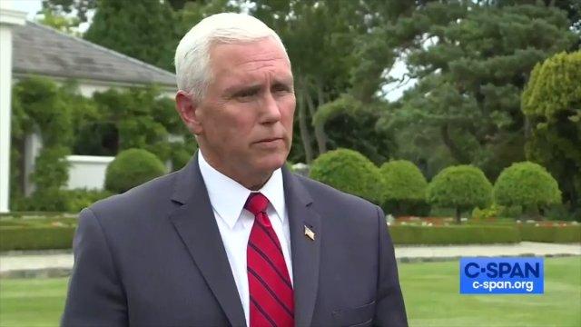 In Ireland, Mike Pence stays at Trump's Doonbeg resort 150 miles away from VP's meetings in Dublin