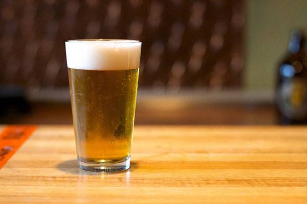 Photo of glass of beer by Alan Levin
