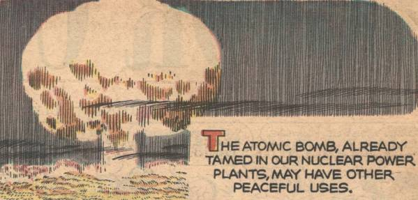 "A scan from the 1965 comic strip ""Atomic Ditch Digging"""