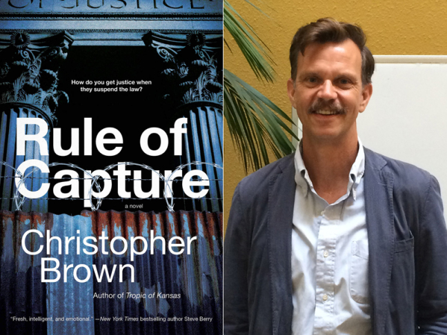 Christopher Brown talking legal thrillers, dystopia, and science fiction