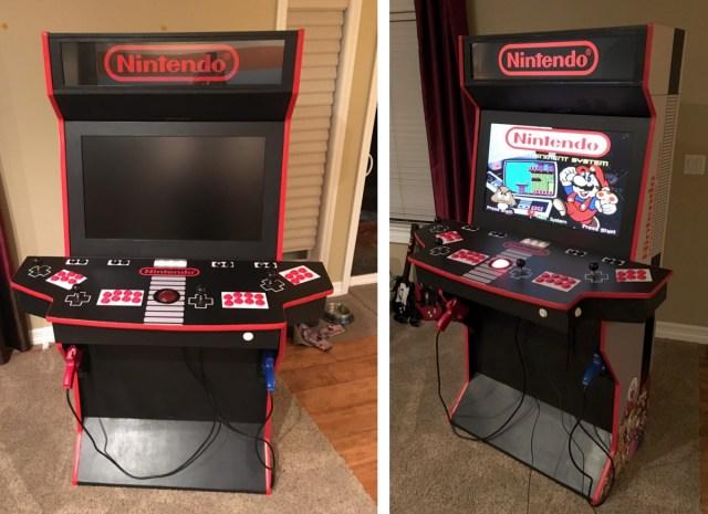 This guy re-made a classic Nintendo Home Arcade