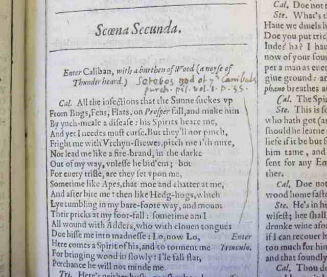 Scholar finds John Milton's copy of Shakespeare, marked up with corrections and improvements