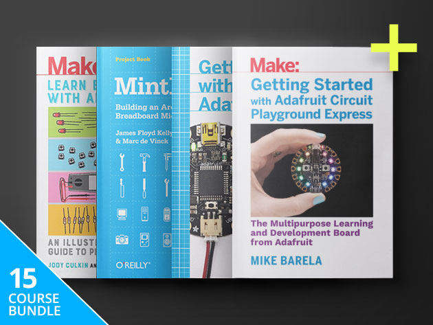 Name your price for this library of DIY eBooks by Make: