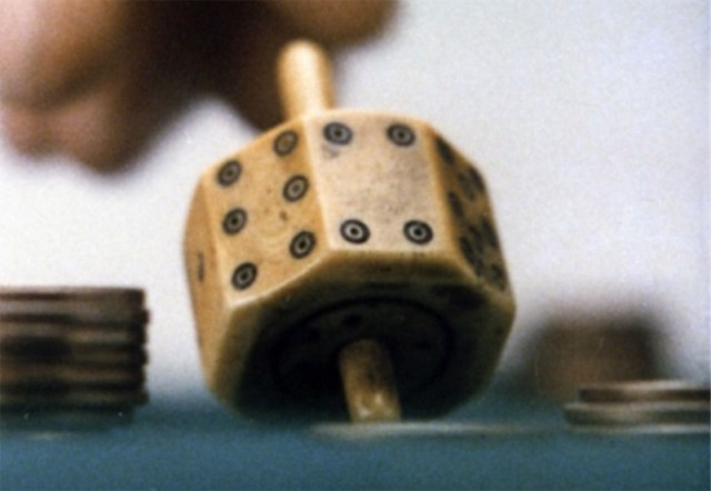 A lovely film of spinning tops by Charles and Ray Eames