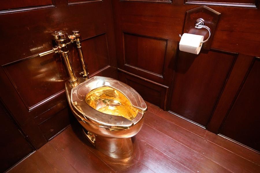 $5 million gold toilet stolen from Britain's Blenheim Palace