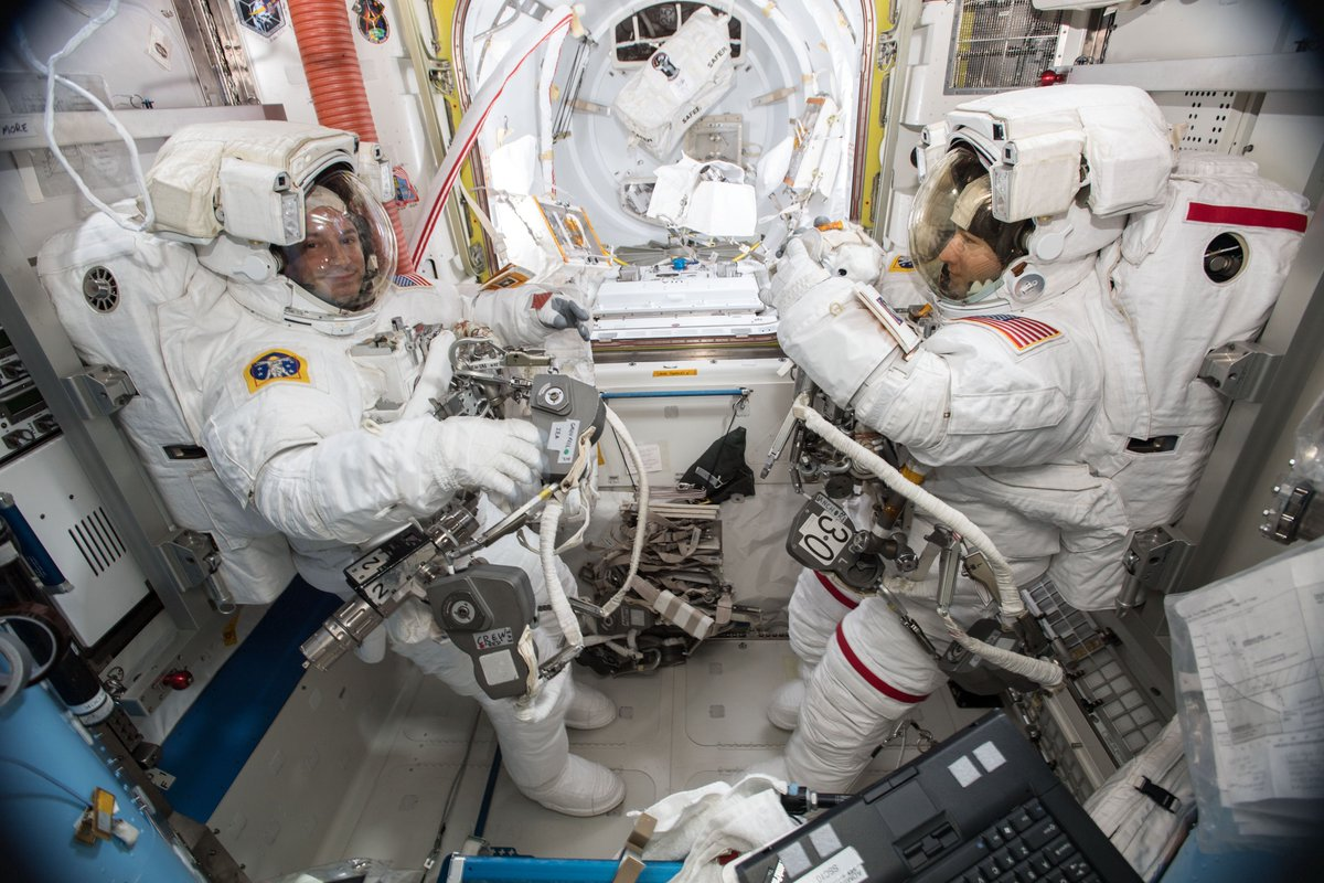 LIVE: Watch The First All-woman Spacewalk / Boing Boing
