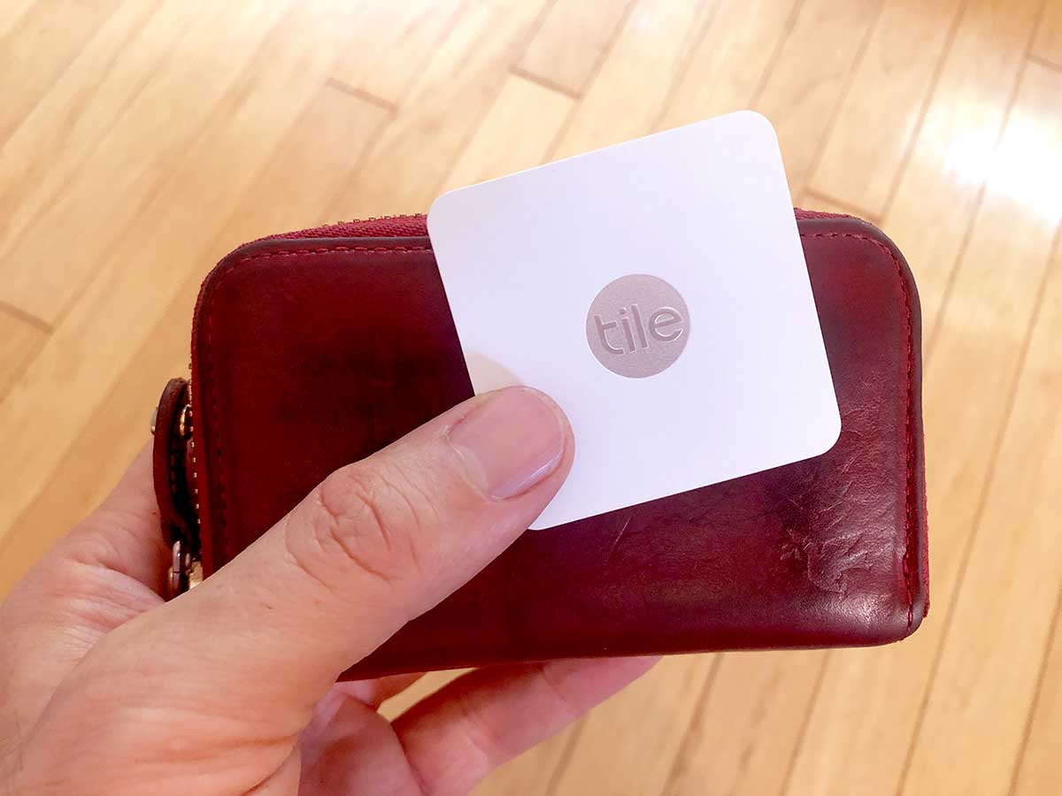 A Bluetooth tracker helped me find my wallet