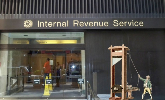 IRS admits it audits poor people because auditing rich people is too expensive