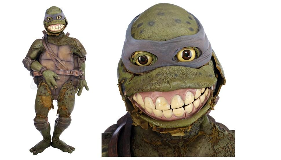 Rotting Leonardo Suit From 1990s Ninja Turtles Movie Fails To Sell At