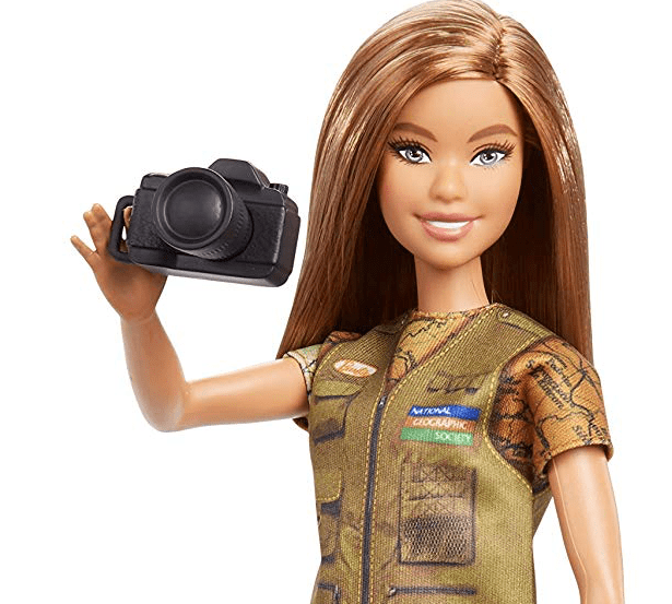 National Geographic and Mattel proudly present 'Photojournalist Barbie'