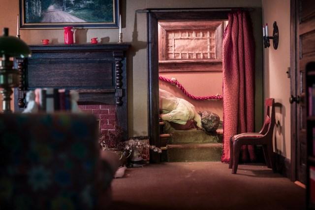Frances Glessner Lee created miniature death scenes to train investigators in the 1940s