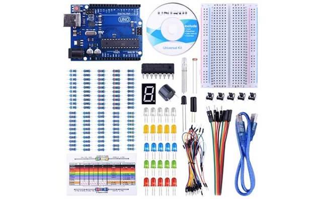 Great price on Arduino clone starter kit