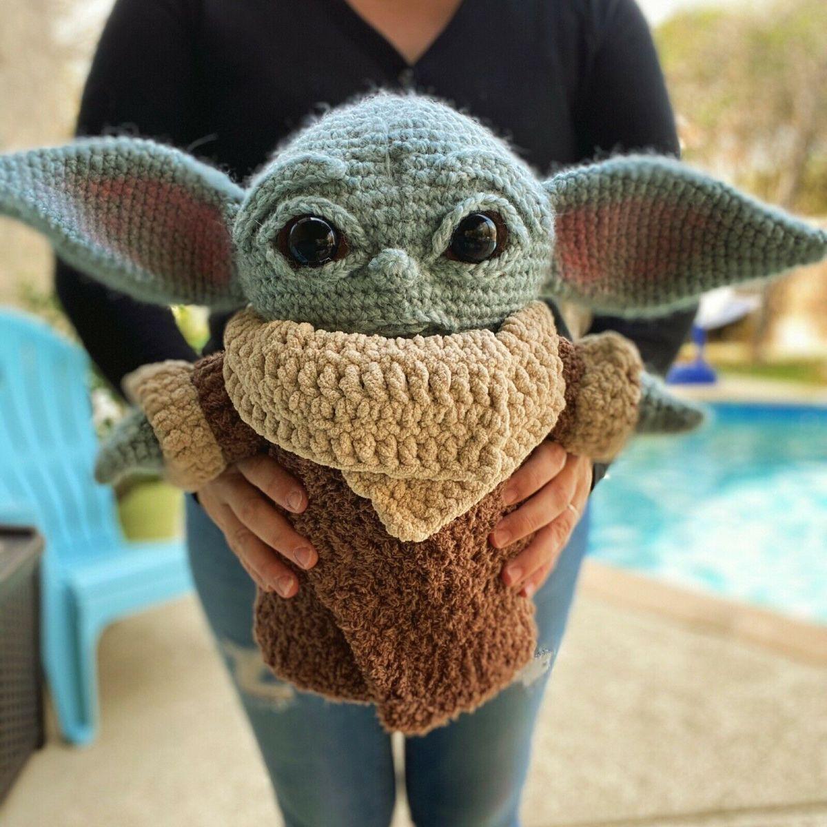 Baby Yoda Amigurimi A Crocheted Cutie By Allison Hoffman