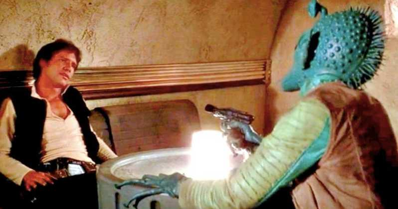 Han and Greedo now shoot simultaneously in latest version of Star Wars: A New Hope