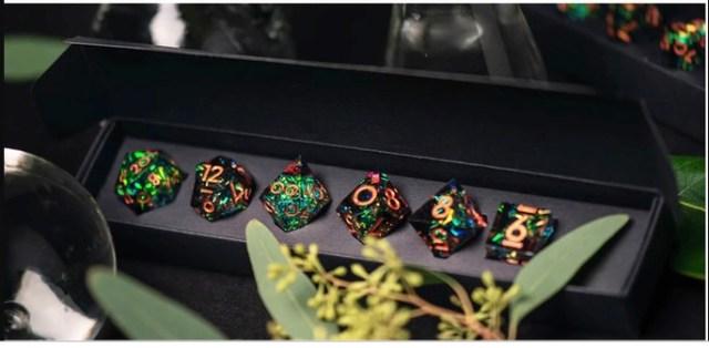 Luxury RPG dice set goes berserk on Kickstarter, raising over $1.66 million
