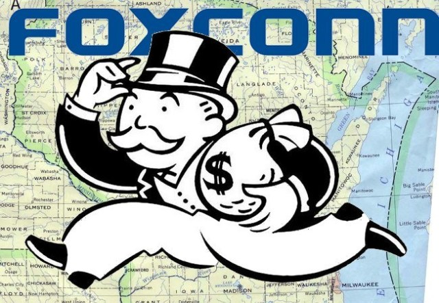 Foxconn wants Wisconsin to keep paying it billions, but it won't disclose what kind of factory it will build
