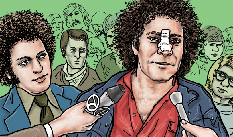 JOHN WILCOCK: The Brutal 1968 DNC and Abbie Hoffman's Illegal Forehead