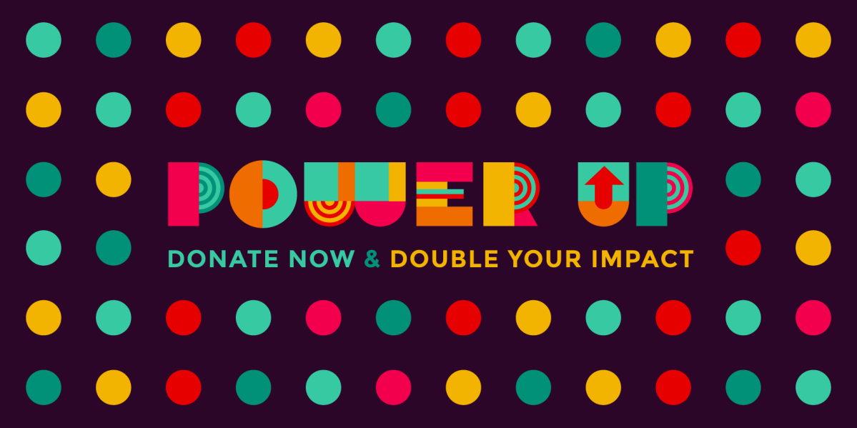 Double your EFF donation with POWER UP!