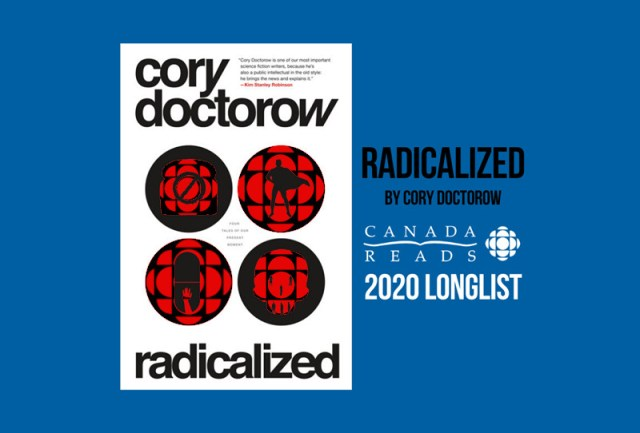 Radicalized makes the CBC's annual Canada Reads longlist