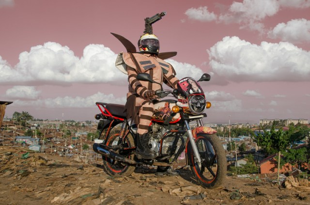 Boda Boda fashion show: equipping Nairobi motor taxi drivers with outfits to match their glorious bikes