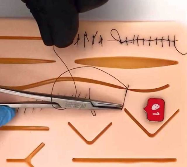This suture practice kit would be a great birthday present