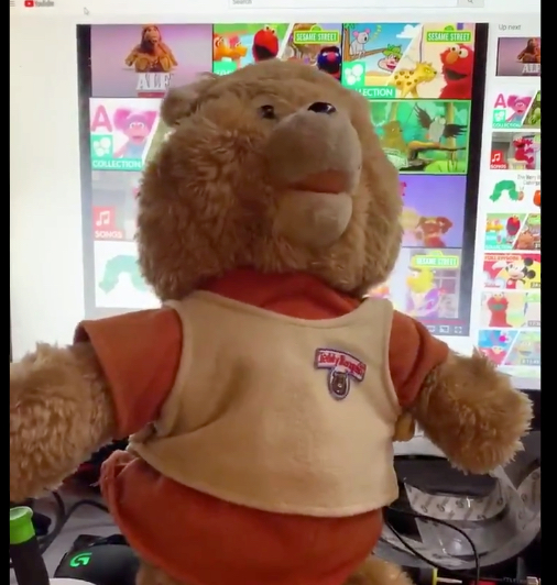 Teddy Ruxpin participates in Trump's impeachment trial
