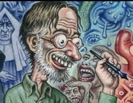 Rare new video interview with R. Crumb