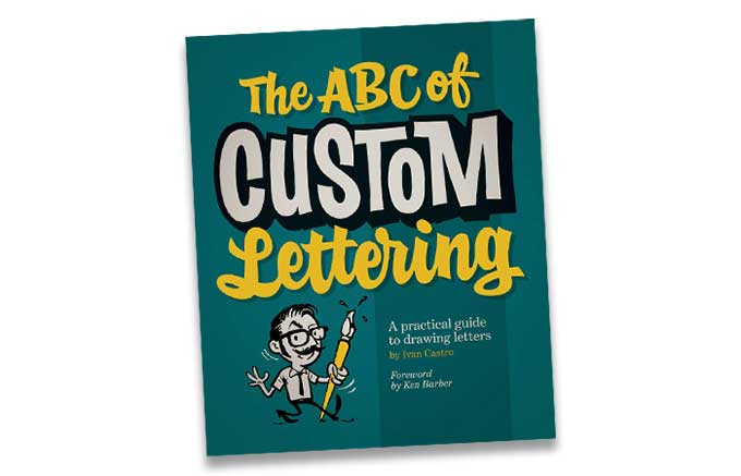 Interested in hand-lettering? Here's a book for you