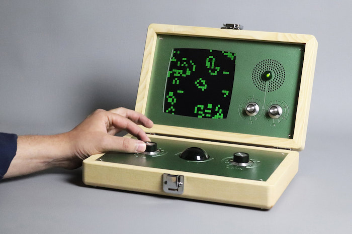Cool retro console lets you play Conway's Game of Life