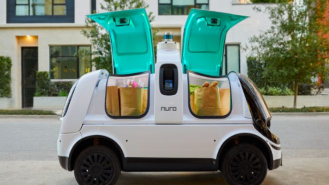 Driverless delivery van to be road-tested in Texas