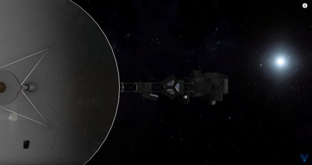 Where are the Voyager spacecraft headed and what might they encounter next?