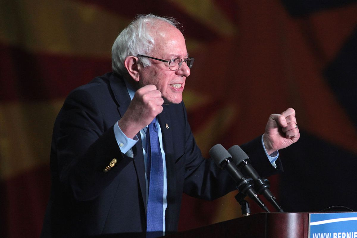 Bernie Sanders drops truths on the Senate floor about the Coronavirus Stimulus Package