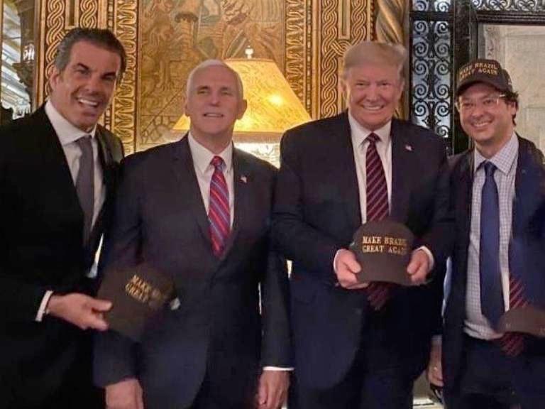 Trump met with Brazil official who has coronavirus