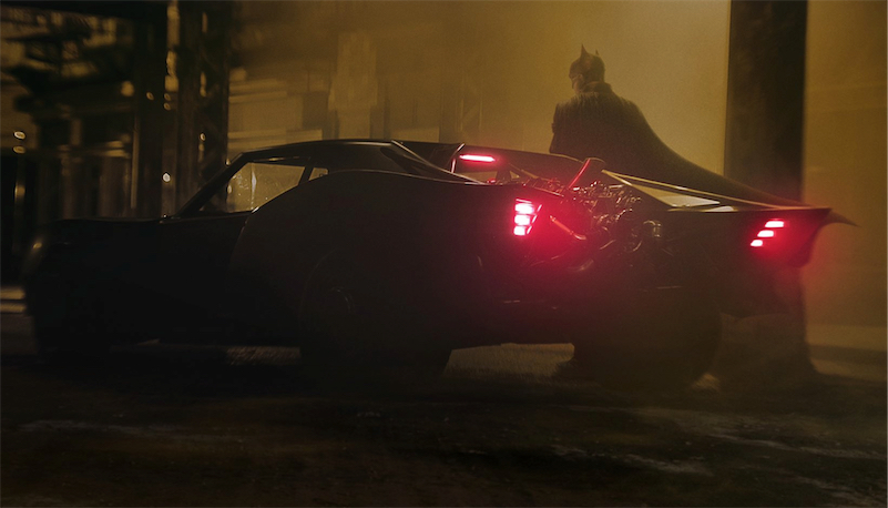 The new Batmobile looks like a vintage muscle car