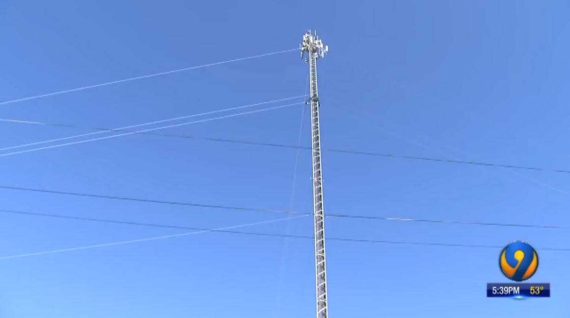 Woman opens fire on cellular tower workers