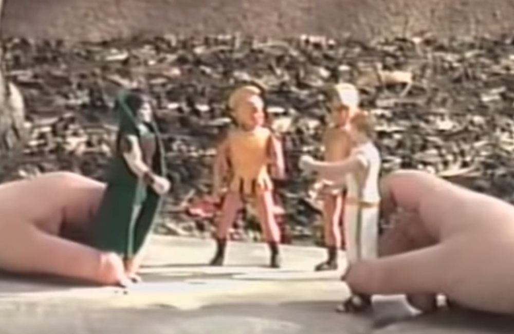 There was a prototype toy line for the X-rated epic film disaster Caligula (1979)