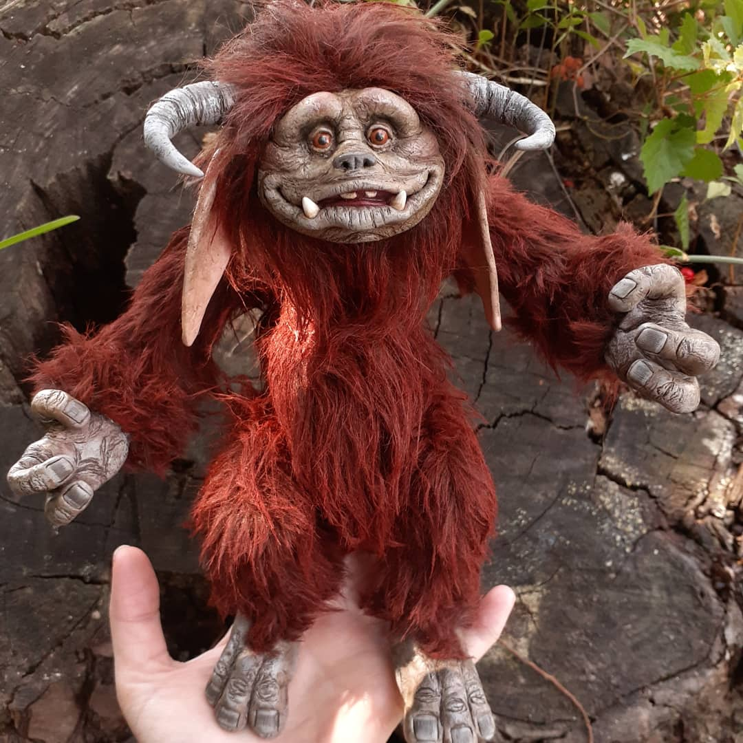 Look at this 'Ludo' beastie made by a 'Labyrinth' fan