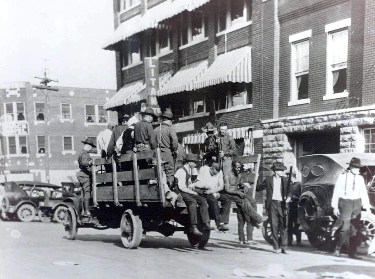 "It's the 99th anniversary of the Tulsa Race Massacre that destroyed ""Black Wall Street"""
