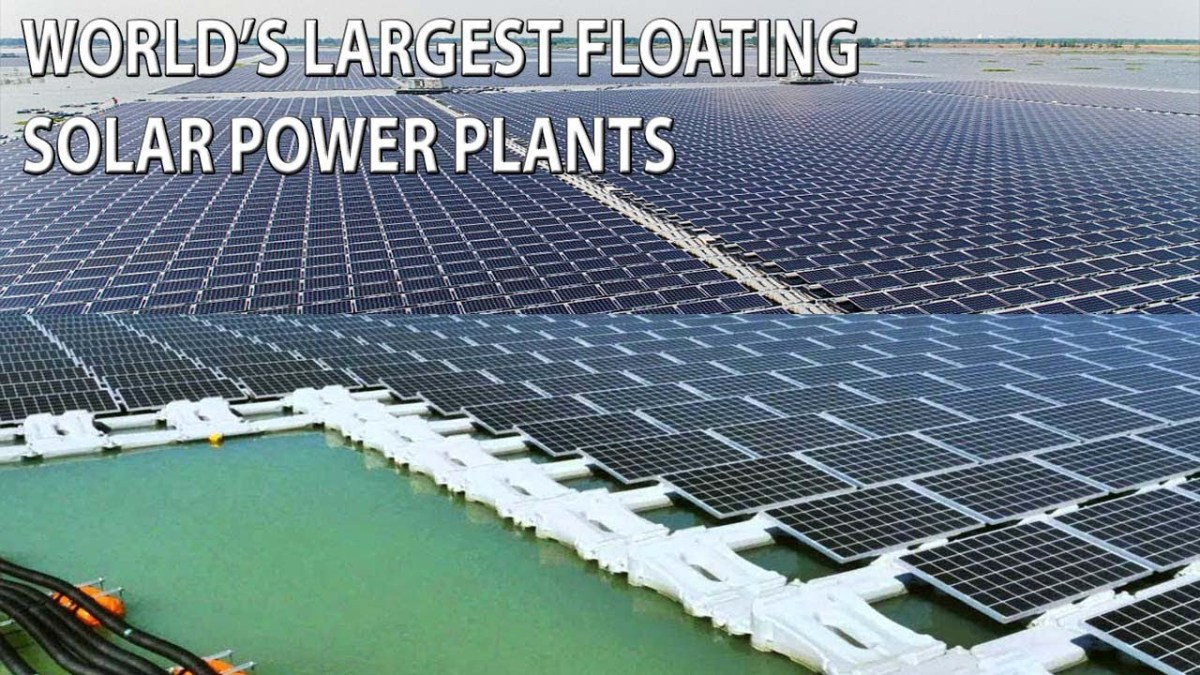 Floatovoltaics are a cool way to super-charge your solar panels with water