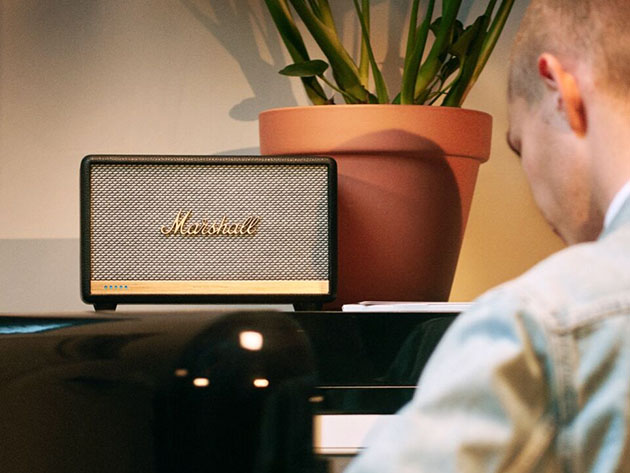 The New York Times called the Marshall Stanmore II the best Alexa speaker and now, it's on sale