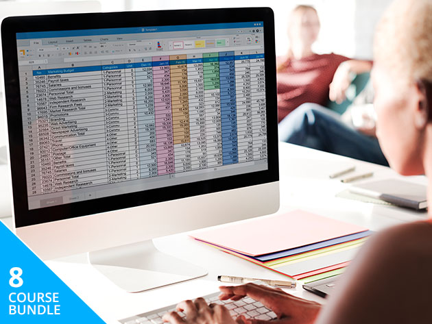 You'll master Microsoft Excel and Power BI with this intensive training package
