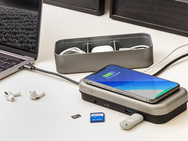 The BentoStack PowerHub 5000 stacks all your Apple device needs together seamlessly
