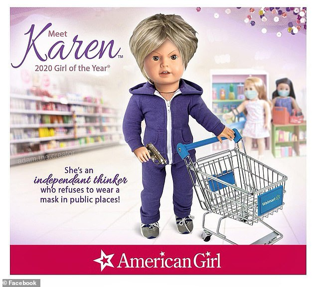 I found out about this amusing Karen parody of American Girl dolls because they want it taken down