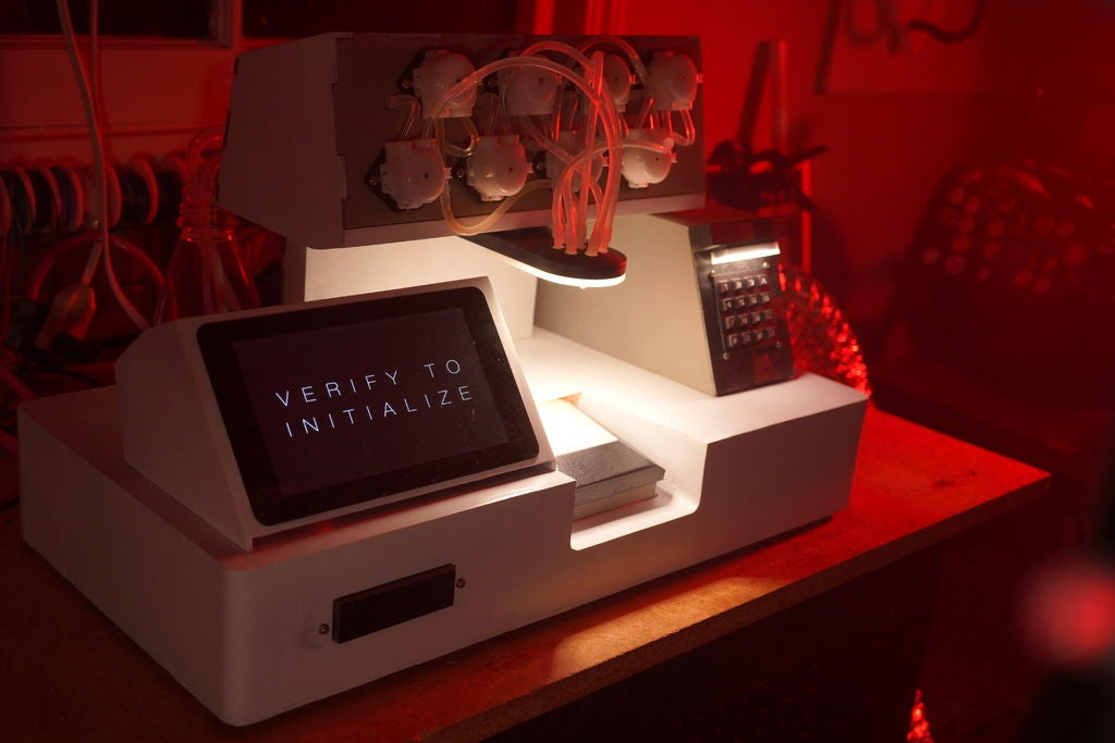 Blade Runner-inspired cocktail machine features that Orson Welles' Japanese whisky ad