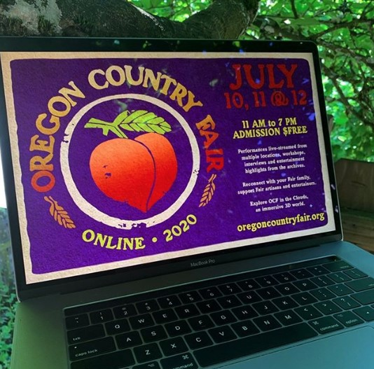 First-ever virtual Oregon Country Fair is happening this weekend